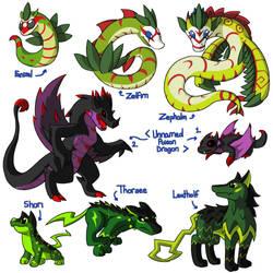 Neko's Fakemon Collection 3 by MajorLeeMan