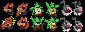 Emoji/Icon Collection (Chip, Fennie, Chatot)