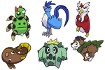 Pokemon and Variations