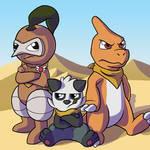 Team RoughnTough (Foxeaf Fanart)