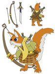 Ranger Squirrel Reference