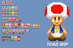 SMB-G Sprites: TOAD WIP