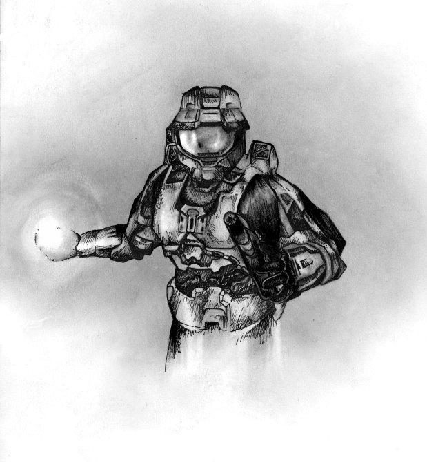 Halo Guy by Amaranth44