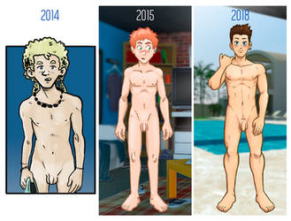 Drawing Nudes Progression. What do you think? by DollKaten