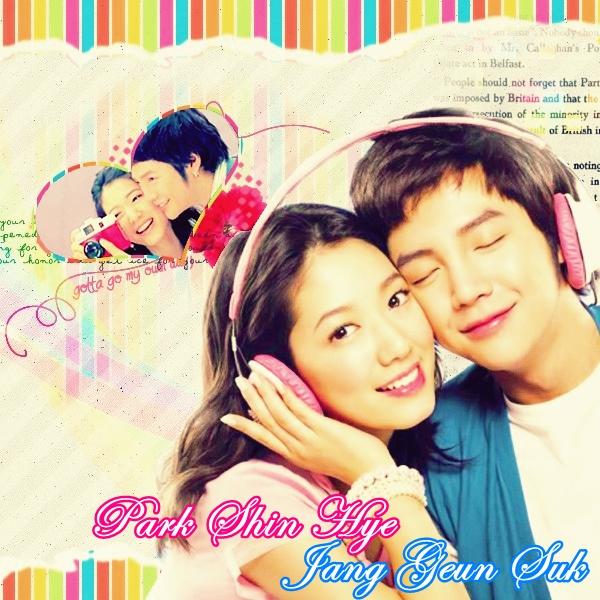 Park Shin Hye y Jang Geun Suk by mariana90 on DeviantArt
