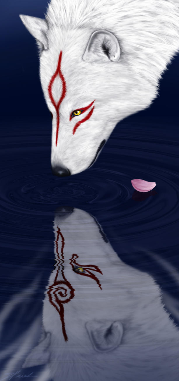 Okami: Reflections of the Past by anqila