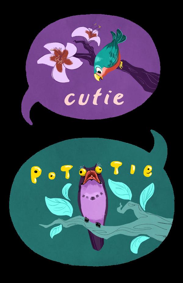 Cutie Potootie by anqila