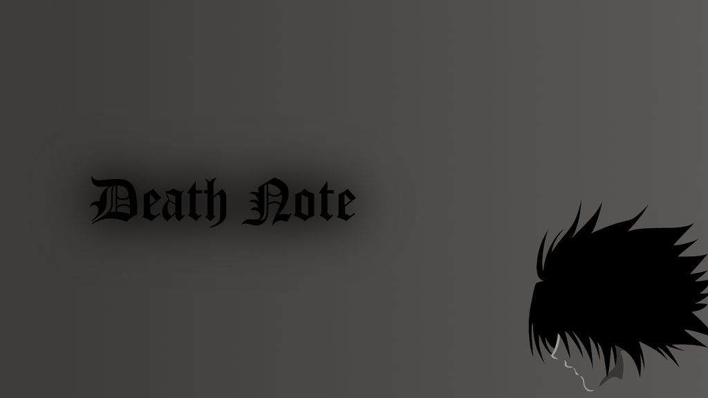 deathnote 39 l 39 wallpaper by gustwing on deviantart
