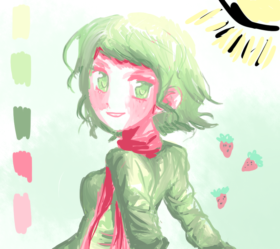Color Palette Drawing Practice By SakakiTheTomiyoto