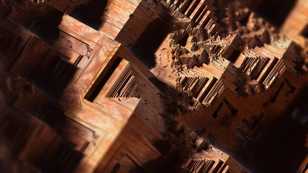 In a Wooden Place