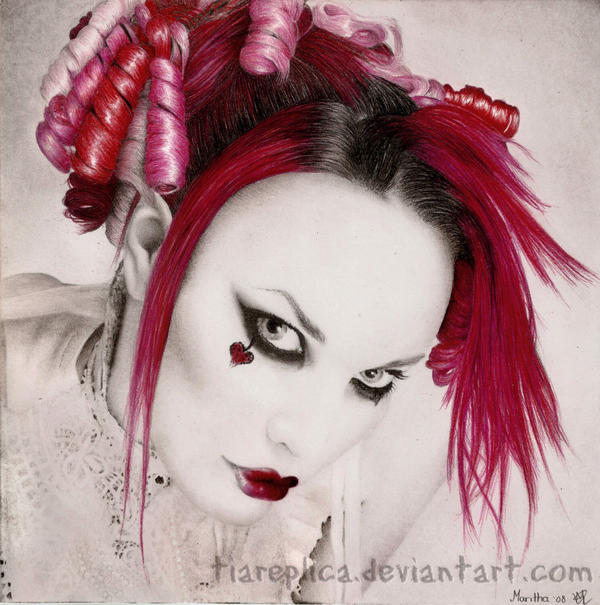 emilie autumn wallpaper. Emilie Autumn by ~tiareplica