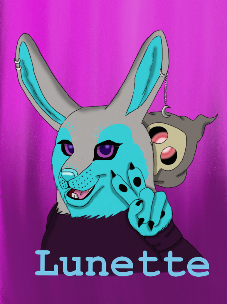 Badge for Lunette_Gift Art by SolitaryGrayWolf