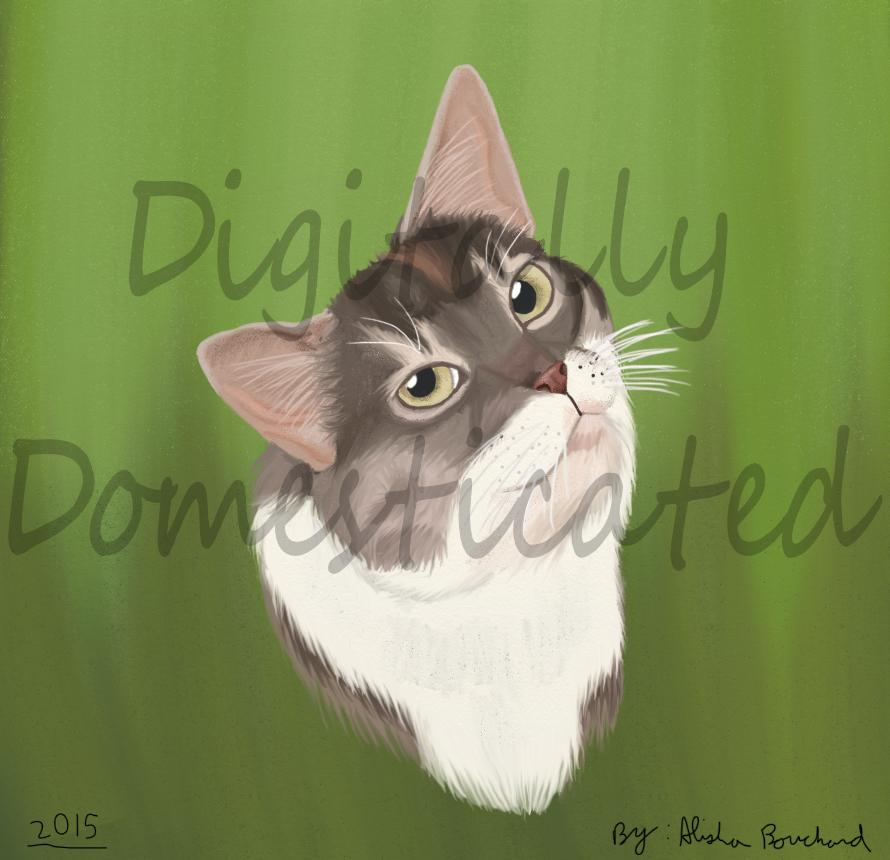 Portrait of Abby by SolitaryGrayWolf