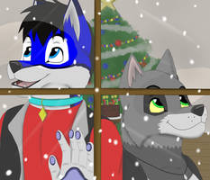 Birthday Snow_ Art Trade for EJhusky 2017