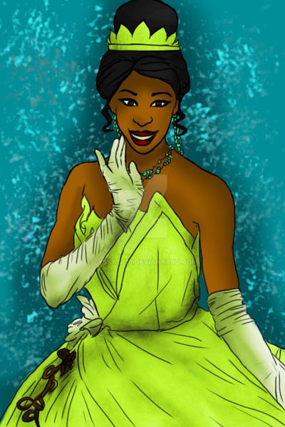 Tiana face character by lyssaG123