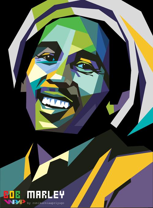 Bob Marley By Bujangkecil