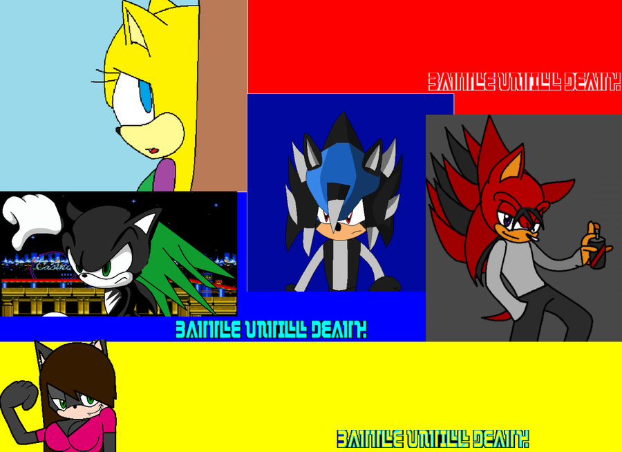 BATTLE UNTIL DEATH comic cover by drainzerTh12