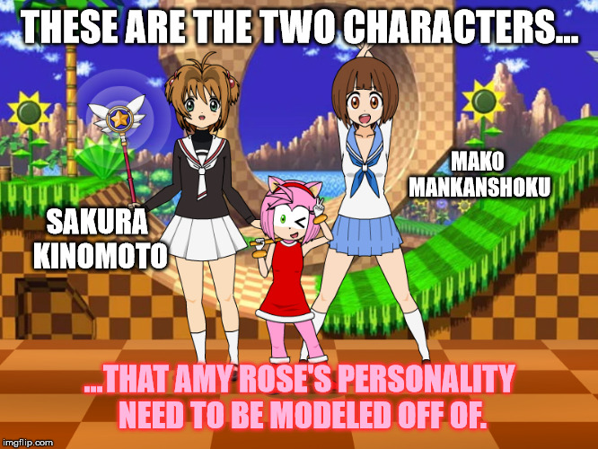 How to fix Amy Roses character (In My opinion)