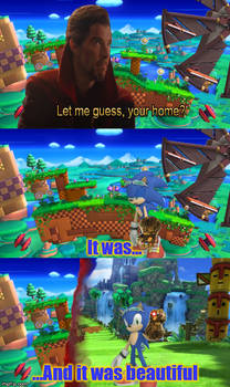 when Green Hill Zone ment something.
