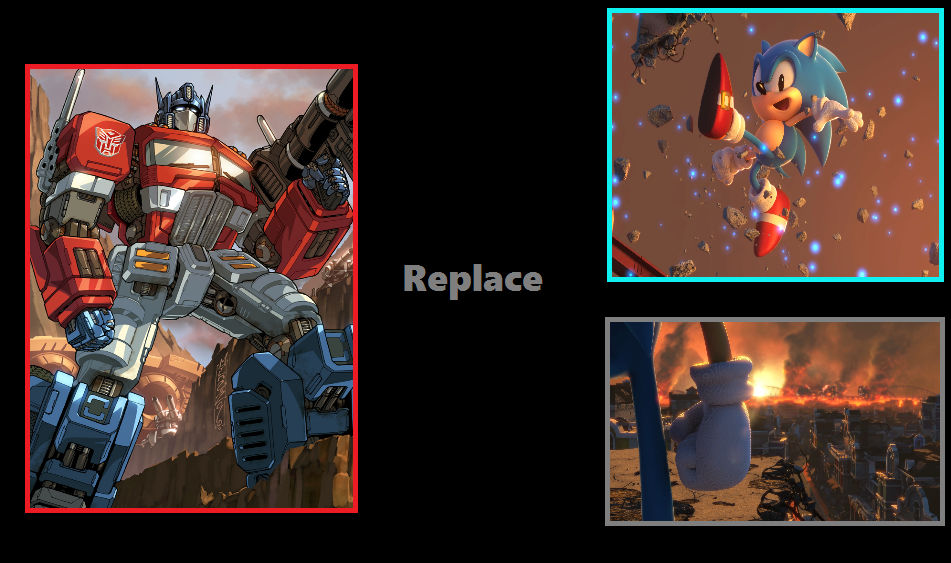 Optimus replaced Classic Sonic in Sonic Forces
