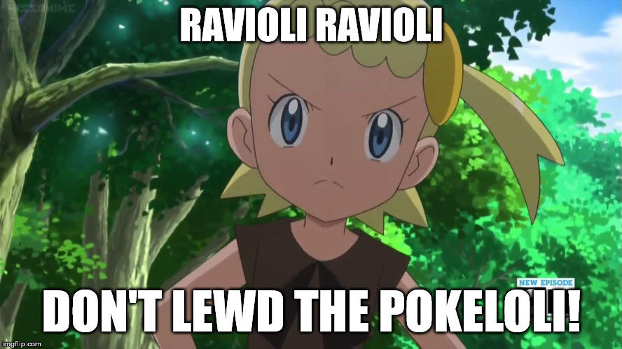 Don't Lewd the Poke Loli