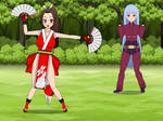 Mai Shiranui from King of Fighters (Export Code)