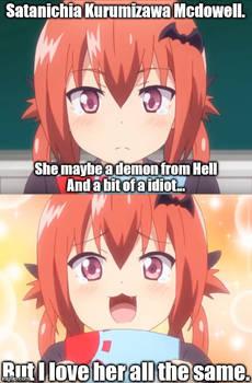 Satania san in a nutshell