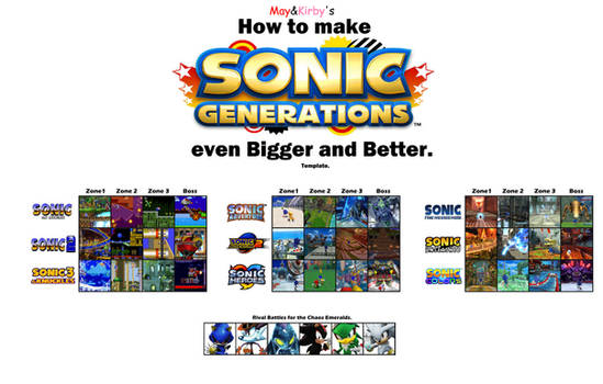 Sonic Generations  even better then ever.