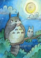 Night Serenade by beareen