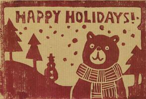 Happy Holidays! by beareen