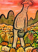 Odd's Garden by beareen