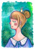 snail bun (IF: snail) by beareen
