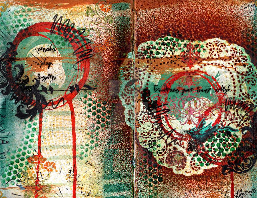Inner Artist {mixed media} by SarahBarberDesign