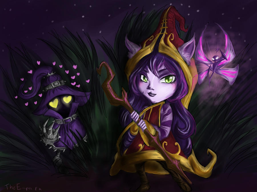 Veigar and Lulu! + SUMMONERS SHOWCASE! by TheEmpa
