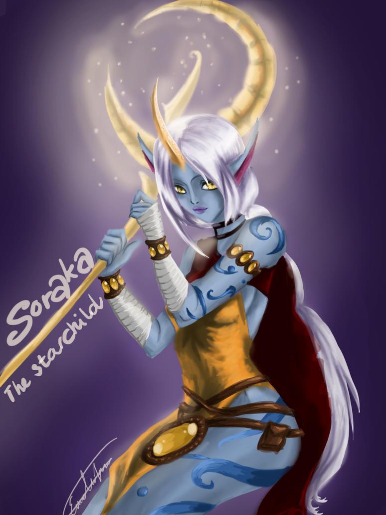 Varus x Soraka by icahncat on DeviantArt