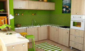 Learning Vray - Kitchen