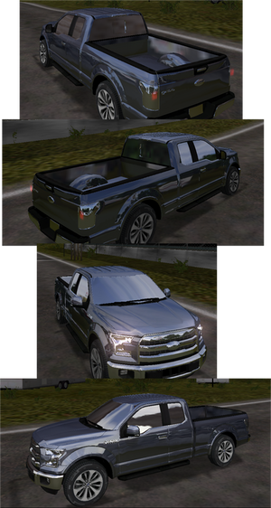 2015 Ford F-150 Lariat SuperCab