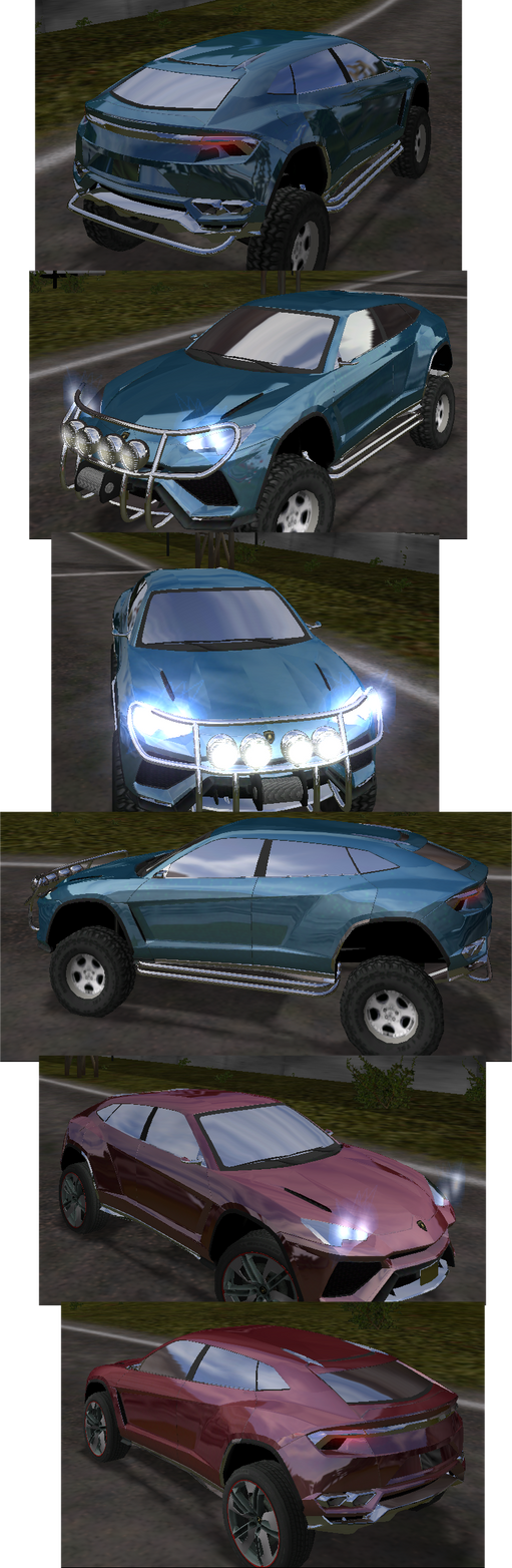 Lamborghini Urus by XxFengoxX