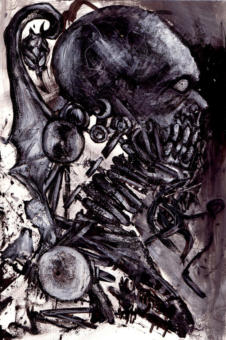 Concept - Skeleton Android by Caroline-G-Buckby