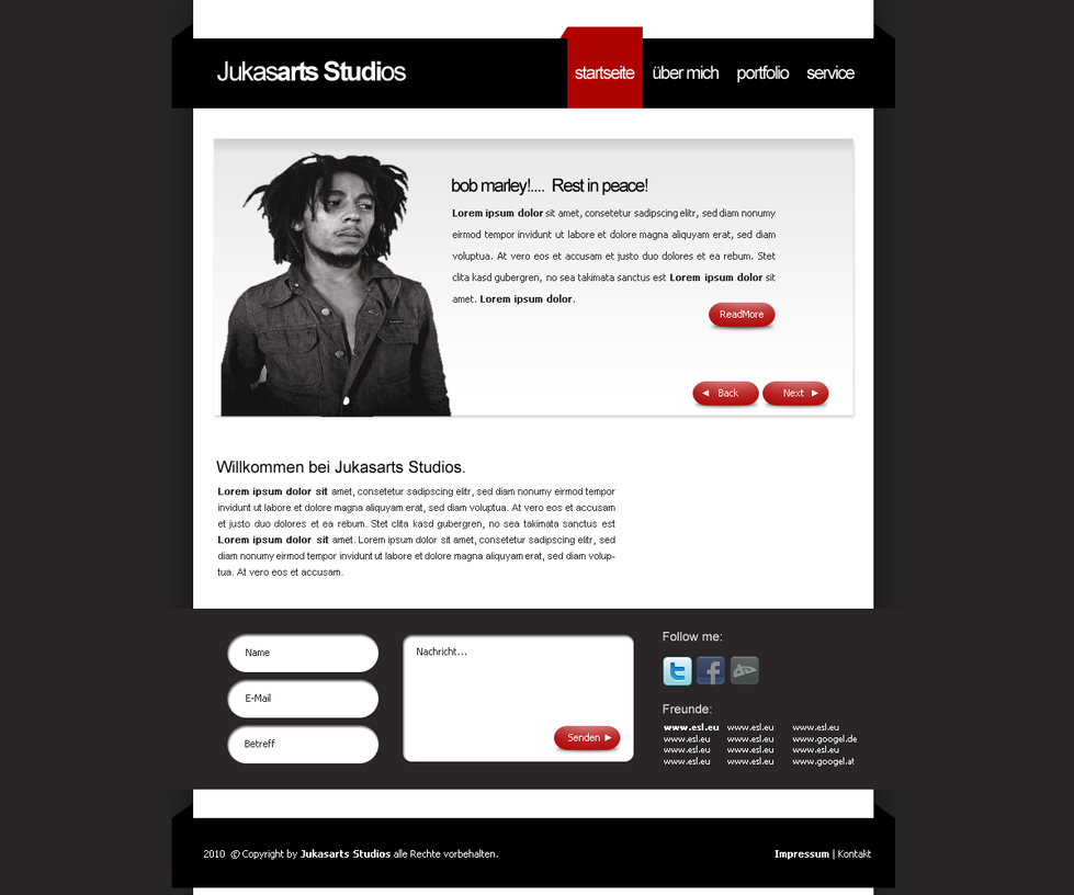 portfolio by jukasarts d3522ik Creatively Inspired Web Interface Designs