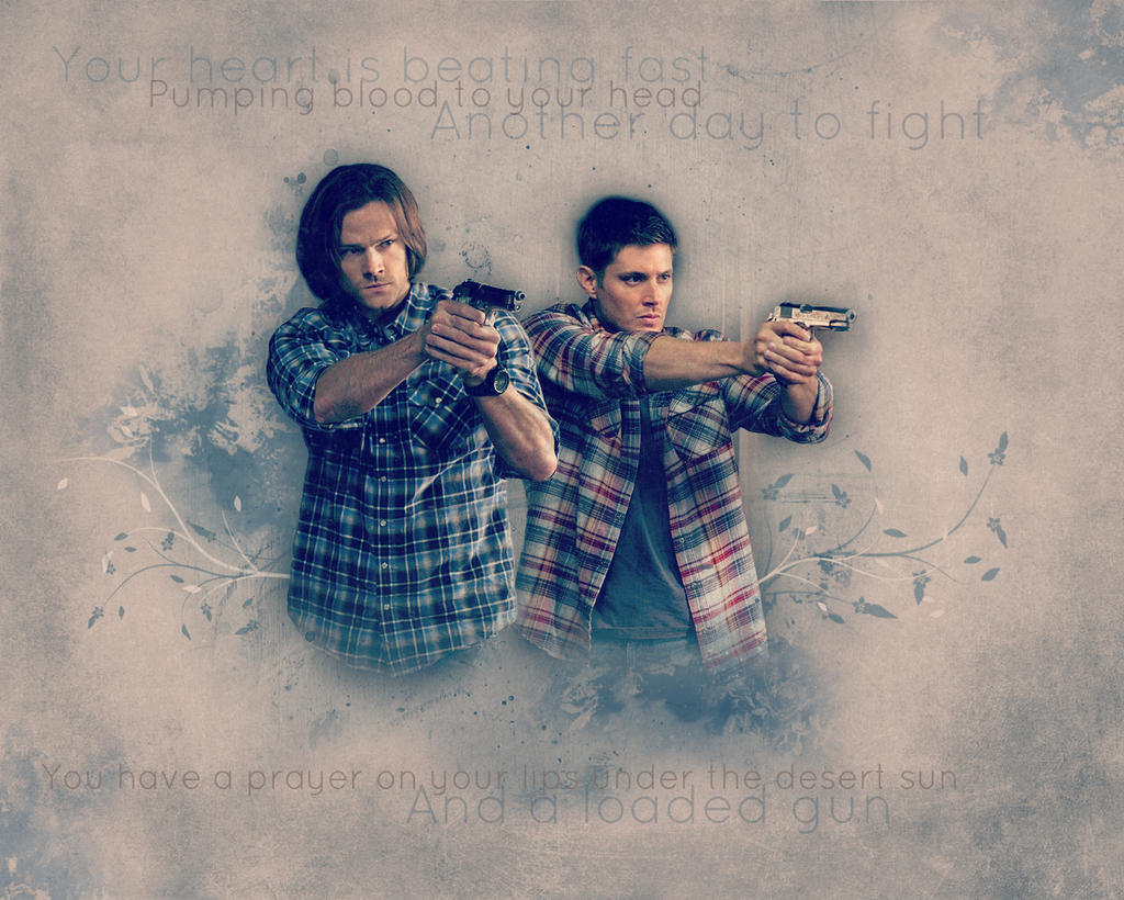 Supernatural Wallpaper Sam And Dean By Artistiqua On Deviantart