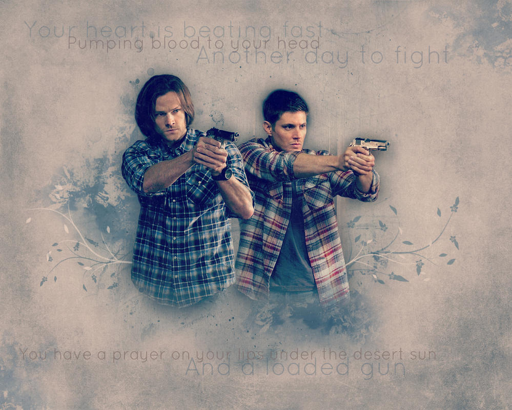 Supernatural wallpaper Sam and Dean by Artistiqua on ...