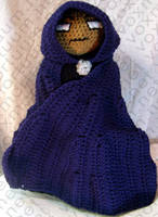 Cloak Tribute Amigurumi Doll by voxmortuum