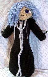 Zexion Tribute Doll by voxmortuum