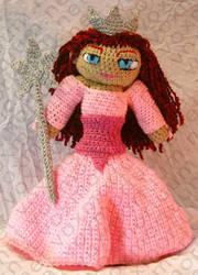Glinda Wizard of Oz Amigurumi by voxmortuum