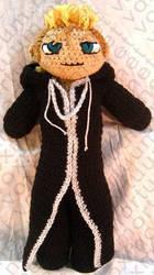 Demyx Amigurumi Tribute Doll by voxmortuum