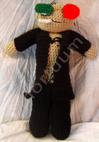 Spider Jerusalem Tribute Doll by voxmortuum
