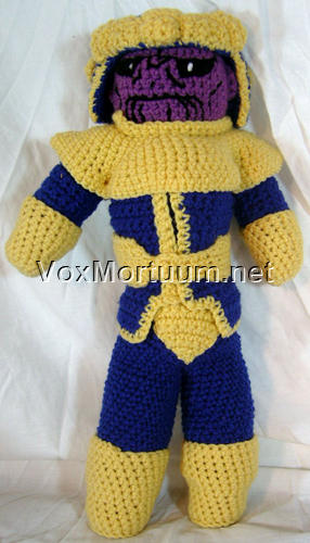 Thanos the Big Boss 😎 #amigurumilove #crochet #crochetthanos ... | 500x286