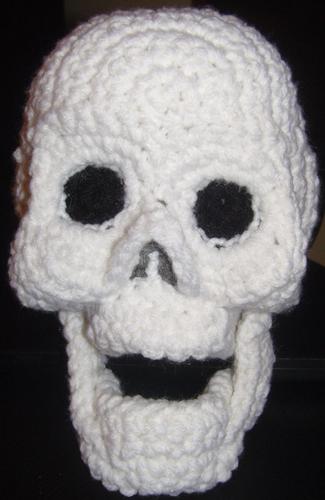 Free Amigurumi Skull Pattern : Skull Amigurumi Crocheted Plush by voxmortuum on deviantART