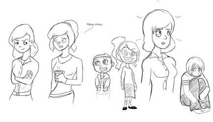 Faith Emerson and Kids